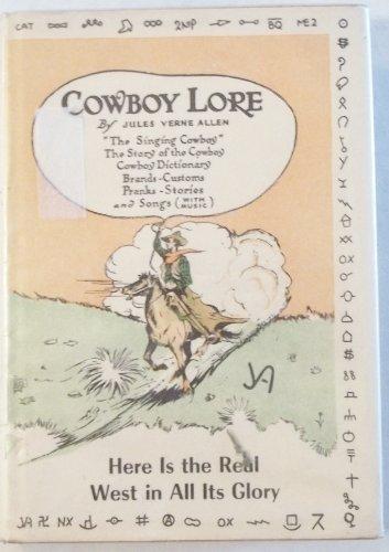 Cowboy lore: Allen, Jules Verne