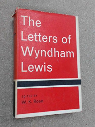 The Letters of Wyndham Lewis