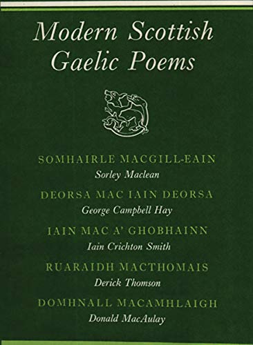 9780811206310: Modern Scottish Gaelic Poems