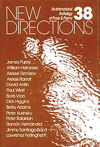 New Directions 38 (New Directions in Prose & Poetry) (v. 38) (0811207102) by New Directions