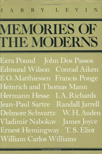 9780811207331: Memories of the Moderns