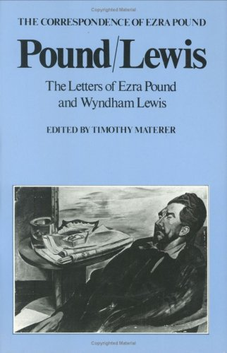 9780811209328: Pound/Lewis: The Letters of Ezra Pound and Wyndham Lewis (The Correspondence of Ezra Pound)
