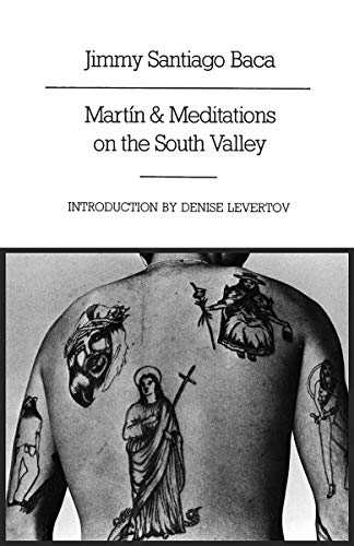 Martin & Meditations on the South Valley (New Directions Paperbook NDP648): Baca, Jimmy ...