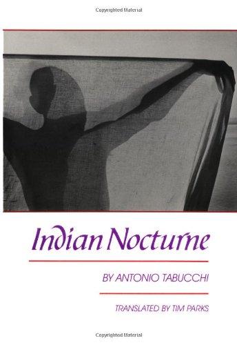 Indian Nocturne (English and Italian Edition): Antonio Tabucchi