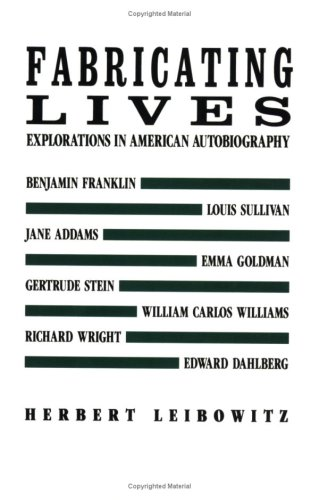 9780811211680: Fabricating Lives: Explorations in American Autobiography (New Directions Paperbook)