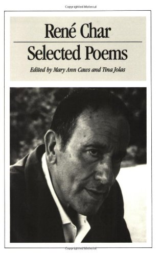 9780811211925: Selected Poems of Rene Char