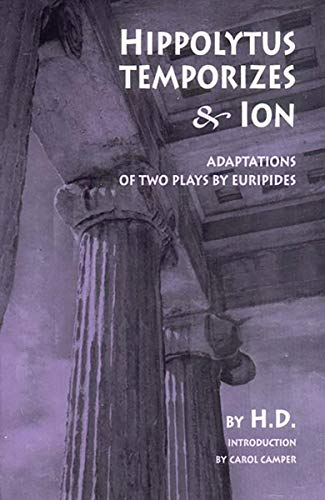 9780811215534: Hippolytus Temporizes & Ion: Adaptations from Euripides
