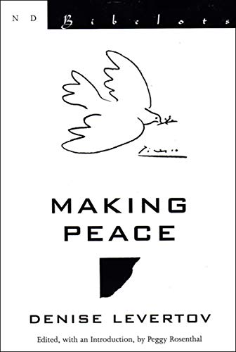 9780811216401: Making Peace (New Directions Bibelots)
