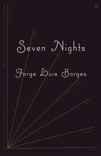 Seven Nights (New Directions Paperbook): Jorge Luis Borges
