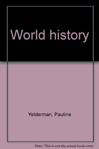 World history: Yelderman, Pauline