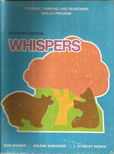 9780811407144: Reading, Thinking, and Reasoning Skills Program (Whispers)
