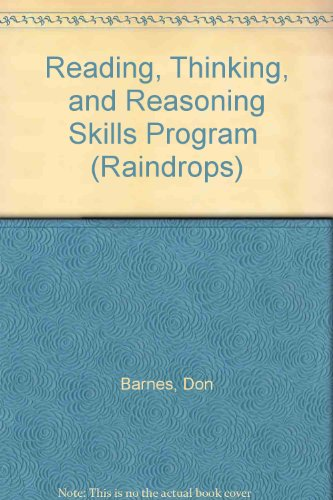 9780811407168: Reading, Thinking, and Reasoning Skills Program (Raindrops)