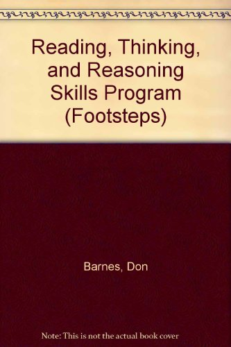 9780811407182: Reading, Thinking, and Reasoning Skills Program (Footsteps)