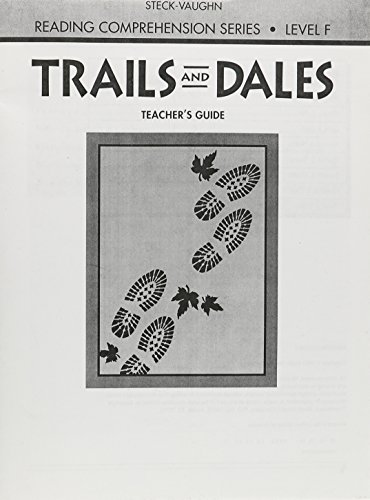 9780811413541: Trails and Dales Revised: Teacher's Guide (Reading Comprehension (Steck-Vaughn Teachers Guides)) (Steck-Vaughn Reading Comprehension Series)