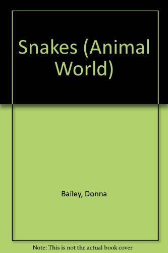 9780811426367: Snakes (Animal World)