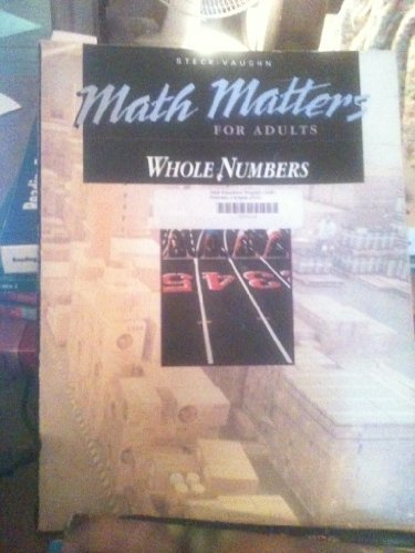 9780811436502: Whole Numbers (Math Matters for Adults)