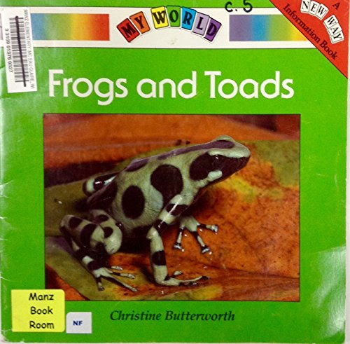 9780811443739: Frogs and Toads (My World, Green Level- 2B)