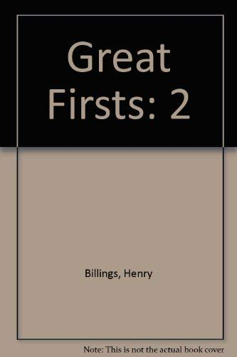 9780811446907: Great Firsts