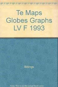 9780811462112: Te Maps Globes Graphs LV F 1993