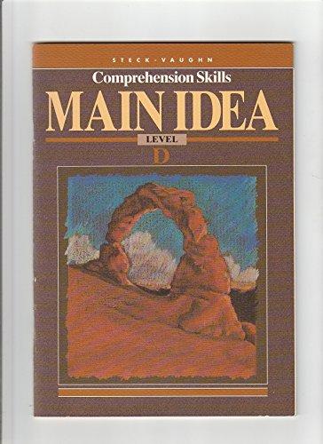 9780811478427: Steck Vaughn Comprehension Skills: Main Idea Level D