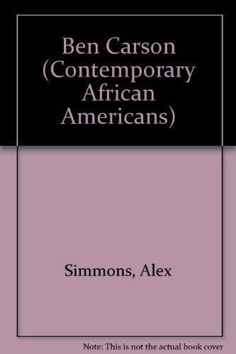 Ben Carson (Contemporary African Americans): Simmons, Alex