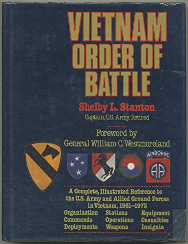 9780811500036: Vietnam Order of Battle