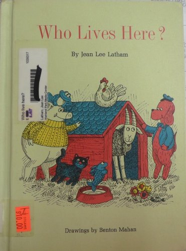 WHO LIVES HERE?: Latham, Jean Lee