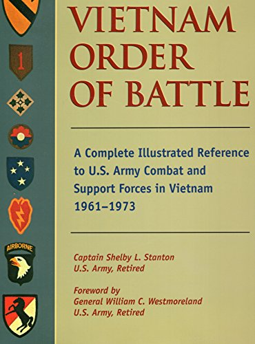 9780811700719: Vietnam Order of Battle: A Complete Illustrated Reference to U.S. Army Combat and Support Forces in Vietnam 1961-1973