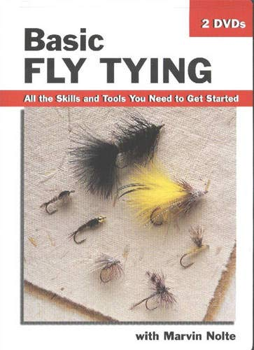 Basic Fly Tying-DVD: All the Skills and Tools You Need to Get Started (How To Basics)