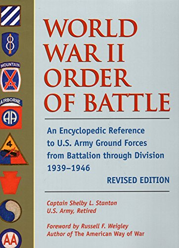 9780811701570: World War II Order of Battle: An Encyclopedic Reference to U.S. Army Ground Forces from Battalion through Division, 1939-1946 (REVISED EDITION) (Stackpole Military Classics)