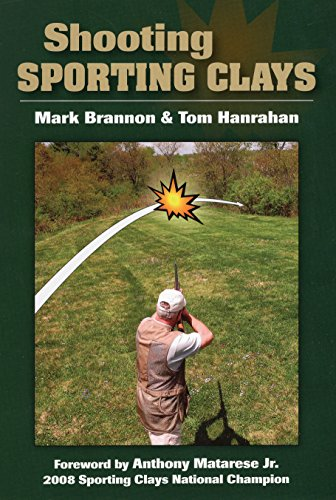 Shooting Sporting Clays (Hardback) 9780811706186 * Foreword by Anthony I. Matarese Jr., 14-time NSCA All-American * How to choose a pump gun, autoloader, side-by-side, or over-and-under, and check weight, balance, and fit * Correct stance for the target speed and trajectory * Gun swing and speed for the 3 main swing types: swing-through, sustained lead, and pull-away * Understanding lead * 15 basic target types and strategies for breaking them * How to fix common mistakes, including lifting your head and stopping or slowing the gun as you shoot * Practicing on skeet and 5-stand courses and preparing for competition