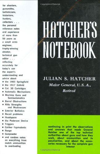 Hatcher's Notebook: Julian S. Hatcher