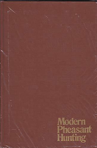 9780811710466: Modern Pheasant Hunting