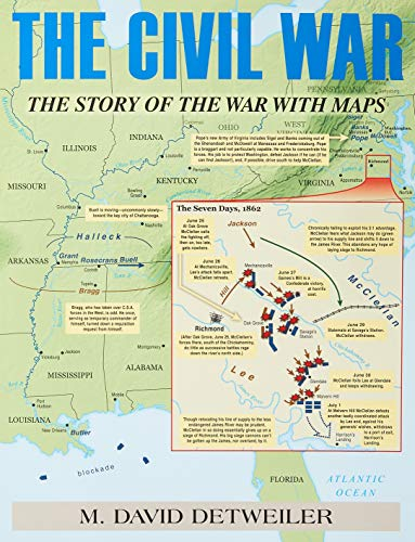 9780811714495: The Civil War: The Story of the War with Maps