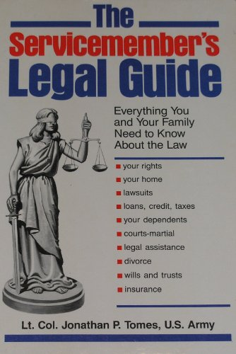 9780811722049: Servicemember's Legal Guide