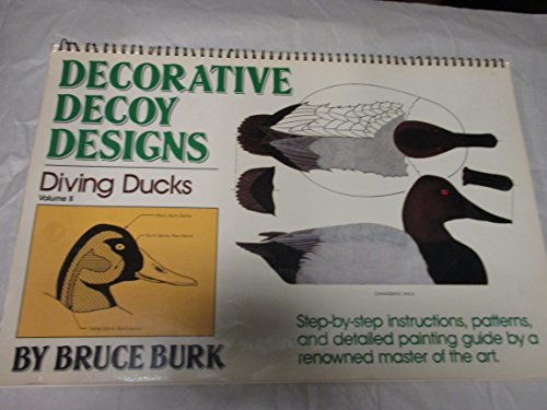 Decorative Decoy Designs V2: Diving Ducks (0811723429) by Bruce Burk