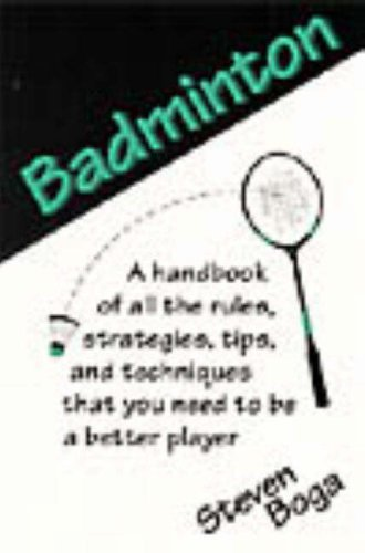 9780811724876: Badminton (Backyard Games)