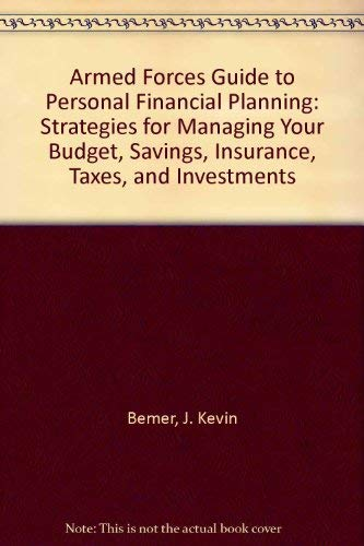 9780811725019: Armed Forces Guide to Personal Financial Planning: 3rd Edition