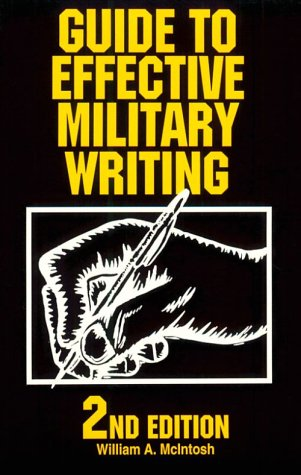 9780811725415: Guide to Effective Military Writing