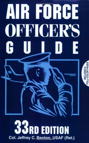 9780811726092: Air Force Officer's Guide: 33rd Edition