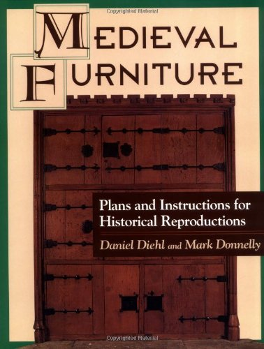 9780811728546: Medieval Furniture: Plans and Instructions for Historical Reproductions
