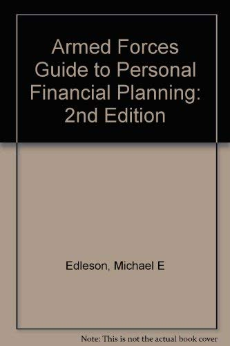 Armed Forces Guide to Personal Financial Planning: Hobart B. Pillsbury;