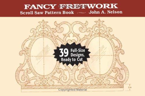 9780811730242: Scroll Saw: Fancy Fretwork (Scroll Saw Pattern Books)