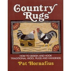 9780811730426: Country Rugs: How to Design and Hook Traditional Wool Rugs and Hangings