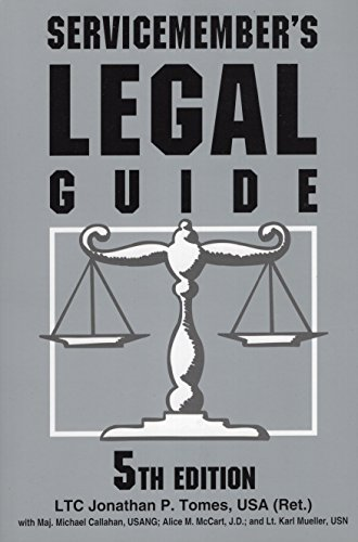 9780811732321: Servicemember's Legal Guide
