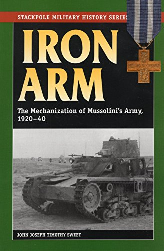 9780811733519: Iron Arm: The Mechanization of Mussolini's Army, 1920-40 (Stackpole Military History Series)