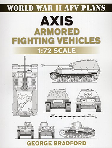 9780811735728: Axis Armored Fighting Vehicles: 1:72 Scale (World War II AFV Plans)