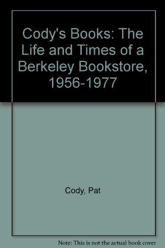 9780811802208: Cody's Books