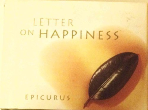 9780811808293: Letter on Happiness