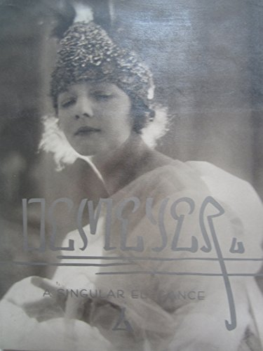 9780811808309: A Singular Elegance: The Photographs of Baron Adolph de Meyer